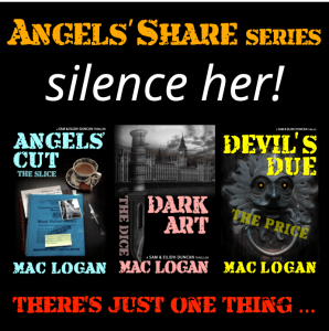 shows the 3 titles of the Angels' Share series